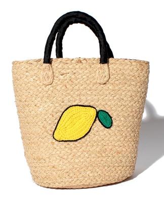 【CASSELINI】刺繍かごバッグ