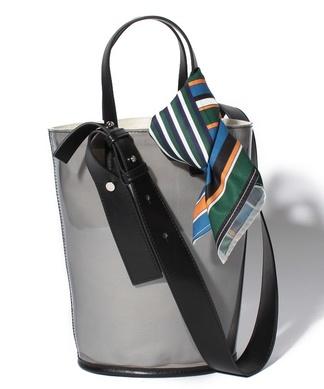 【CASSELINI】スカーフ付2WAYハンドバッグ