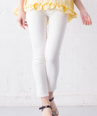 【YANUK】ホワイトデニムパンツ