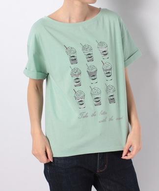 【Brahmin】プリントTシャツ