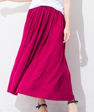 【BEATRICE】ギャザーマキシスカート