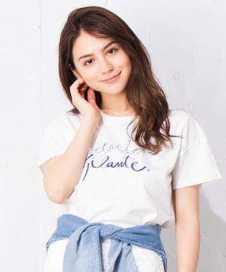 【MyLanKa】 ロゴTシャツ