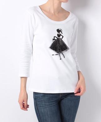 バレリーナモチーフTシャツ