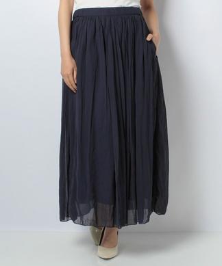 【Brahmin】ロングフレアスカート