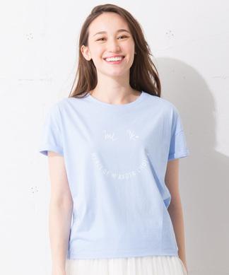 Special Price【MyLanKa】スマイルモチーフTシャツ