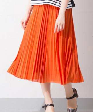 Special Price【Brahmin】ロングプリーツスカート
