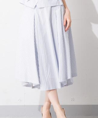 Special Price【B7】ストライプフレアスカート※セットアップ対応商品