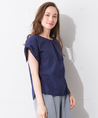 Special Price【Nouque】リボンスリーブカットソー