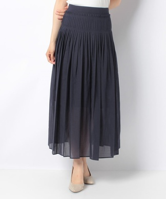 【Dsofa】コットンベースマキシスカート