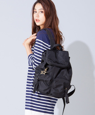【SEE BY CHLOE】スターモチーフ付バックパック