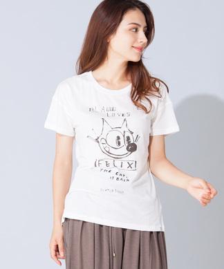 【SCOTCH & SODA】キャラプリントTシャツ