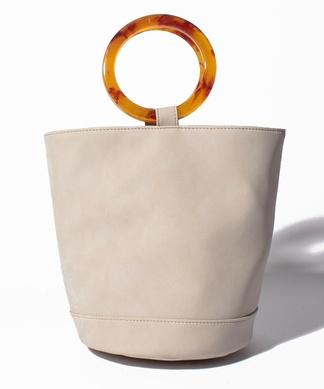 【Brahmin】サークル型ハンドルバッグ