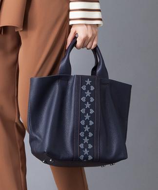 【NUR】刺繍トートバッグ