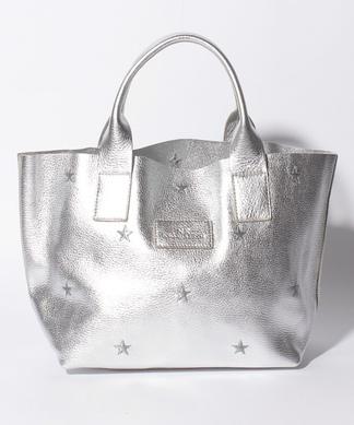 【NUR】スター刺繍ハンドバッグ