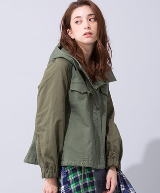 【BEATRICE】異素材ミックスジャケット