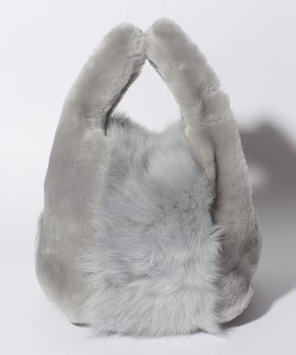 【LISA CONTE】シープファーハンドバッグ