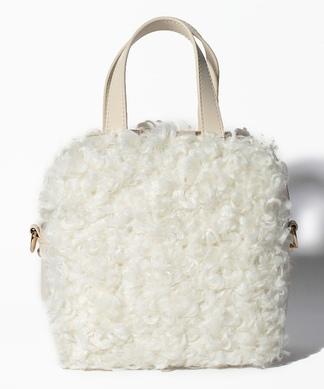 エコファーハンドバッグ