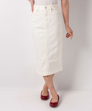 【YANUK】ホワイトデニムスカート