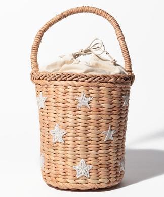 【CONTROL FREAK】刺繍かごハンドバッグ