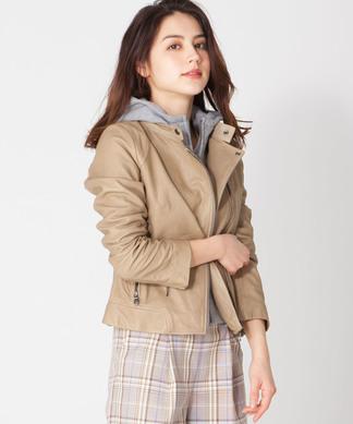 【MONILE】レザージャケット