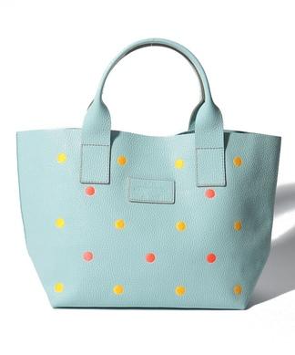 【20th企画】【NUR】ドット刺繍ハンドバッグ