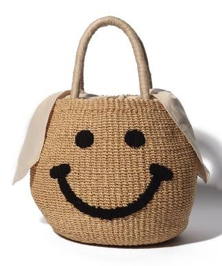 【A-Jolie】スマイルカゴバッグ