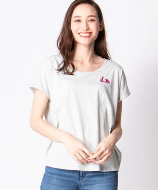 【ULTRA TEE】ワンポイント刺繍Tシャツ
