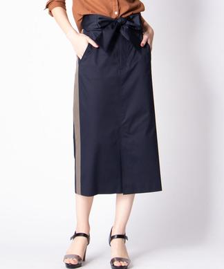 【Brahmin】配色ラインタイトスカート