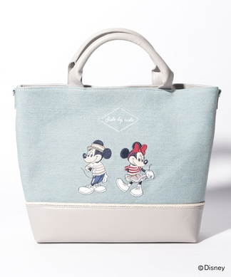 【ACCOMMODE】ミッキー×ミニーハンドバッグ