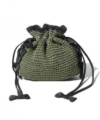 【CASSELINI】リボンポイントハンドバッグ
