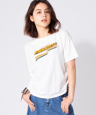 【SCOTCH & SODA】ロゴデザインTシャツ