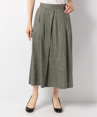 【セットアップ対応商品】【Special Price】ダブルストライプ柄スカート