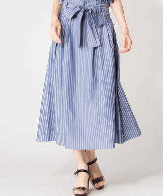 【セットアップ対応商品】【Special Price】ストライプフレアスカート