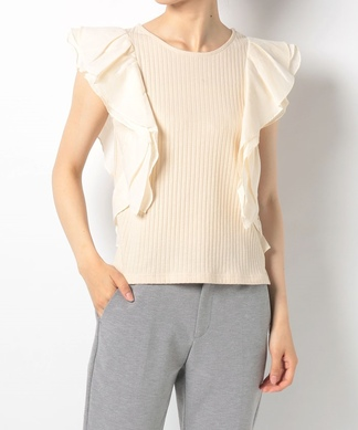 Special price【TORRAZZO DONNA】ラッフルフリルニット