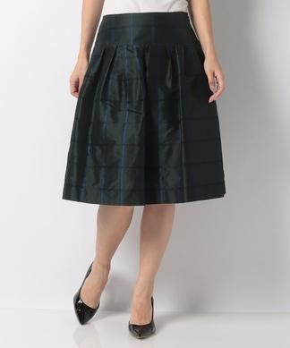 【RUBAN D'OR】タックフレアスカート
