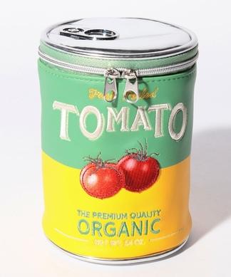 【ACCOMMODE】トマト缶風ポーチ