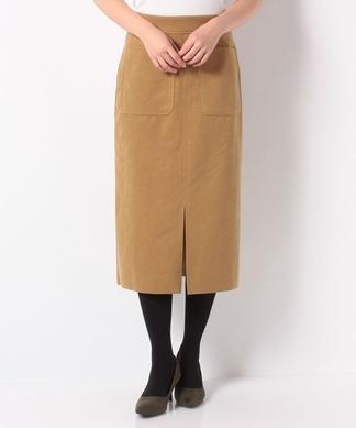 【DOLLY SEAN】フェイクレザータイトスカート