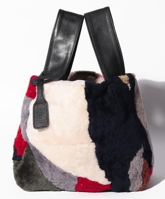 【Meissi】シープボアハンドバッグ