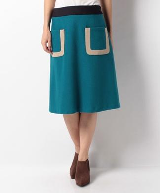 フロントポケットスカート