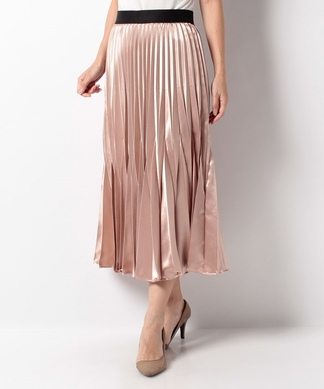 【BEATRICE】シャイニープリーツスカート