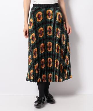 【SCOTCH & SODA】総柄プリーツスカート