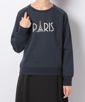 【BEATRICE】PARISロゴスウェット