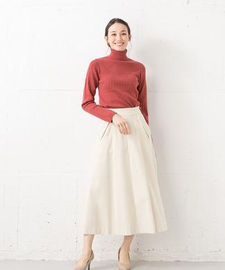 ミモレフレアスカート