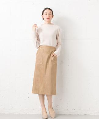 【Brahmin】ロングタイトスカート