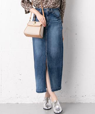 【YANUK】ロングデニムスカート