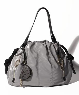 【SEE BY CHLOE】巾着型ハンドバッグ