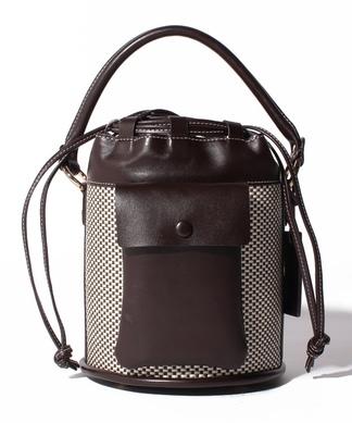 バケツ型ハンドバッグ