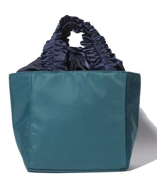 【cachellie】ギャザーハンドルバッグ
