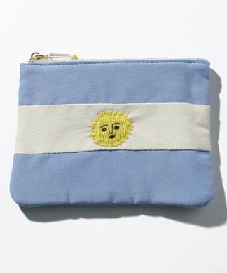 【ACCOMMODE】国旗モチーフポーチ