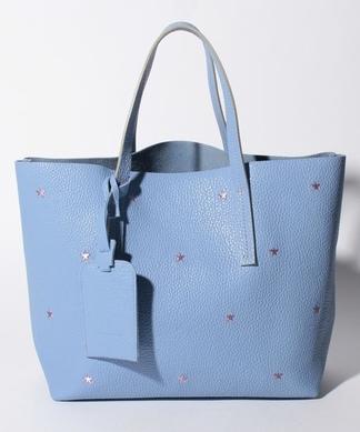 【NUR】スター刺繍トートバッグ